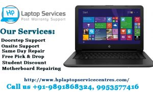 Hp laptop service center in Faridabad